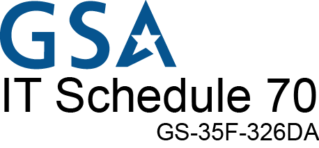 GSA IT Schedule 70 Contract Holder logo